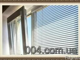 Жалюзи на окна горизонтальные, вертикальные. Ролеты тканевые