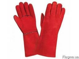 Жаропрочные перчатки, спилковые перчатки