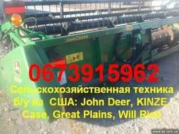 Жатка John Deere 622R (зерновая) 2