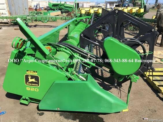 Жатка зерновая Жниварка зернова John Deere 920 F из США
