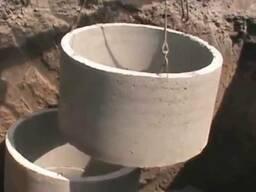 ЖБ-кольца. Копка сливных/выгребных ям. Копка питьевых колодцев
