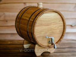 Жбан (бочка) дубовый для напитков 20 лтр.