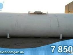 ЖД газгольдер под аммиак 54 м3 аммиачная емкость, жд емкость