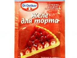 Желе для торта красное Dr. Oetker