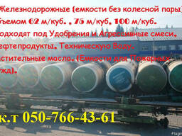 Железнодорожная цистерна: емкость для ГСМ, удобрений