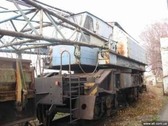 Железнодорожный кран (Такраф) ЭДК-300, 1988 г. в.