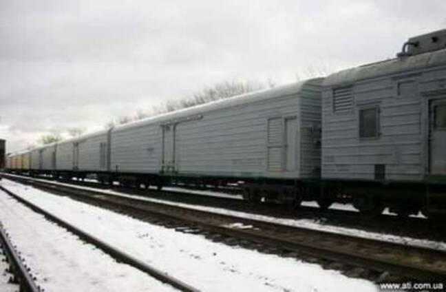 Железнодорожные грузоперевозки в рефрижераторных секциях