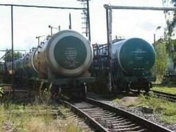 Железнодорожные перевозки наливных, нефтеналивных грузов жд