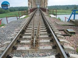 Железнодорожные шпала, рейка, рельсы