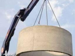 Кольца железобетонные для колодца, скважин и канализации