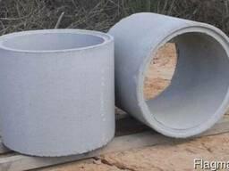 Железобетонные кольца для колодцев, канализации, сливной ямы