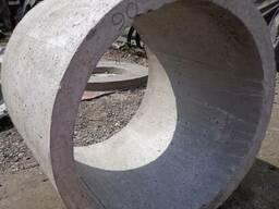 Железобетонные кольца(крышки-днища)от производителя