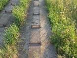 Железобетонные плиты, для козлового крана - фото 2