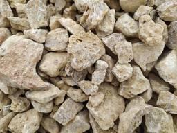 Желтый щебень, армянский щебень, дикий камень