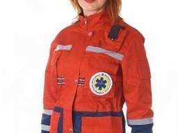 Женская демисезонная куртка для скорой помощи