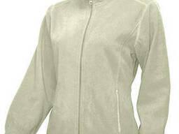 Жіноча флісова куртка, біла