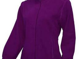 Жіноча флісова куртка, фіолетова
