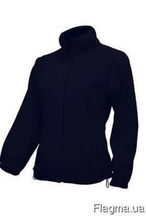 Женская флисовая куртка цвет темно синий в наличие