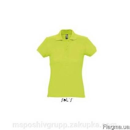Женская футболка Поло (100% хлопок)