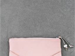 Женская косметичка кожаная розовая пудра BlnkntBN-CB-1-barbi