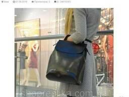 Женская сумка рюкзак , рюкзак трансформер натуральная кожа