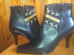 Женские ботинки демисезонные, натуральная кожа, р. 38, новые
