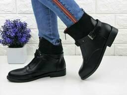 Женские черные ботинки Wendy 1088 (40 размер)
