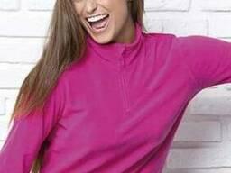 Женский флисовый пуловер