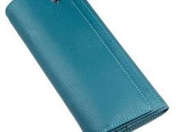 Женский кошелек с визитницей и монетницей ST Leather. ..