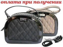 Женский кожаный клатч мини сумка кошелек шкіряна через. ..