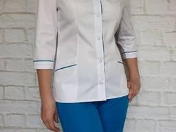 Женский медицинский костюм Лада1, ткань Элит-котон