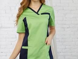 Женский медицинский костюм Лилия