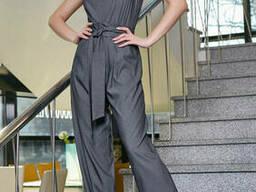 Женский модный брючный комбинезон 42-48, доставка по Украине
