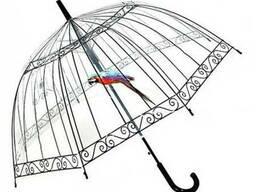 Женский прозрачный зонт Birdcage Umbrella