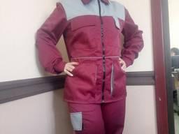 Женский рабочий костюм, отличного качества пошива и ткани