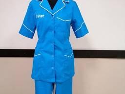 Женский рабочий костюм Виста для сферы обслуживания