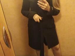 Женское красивое пальто коричневое