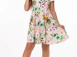 Женское принтовое платье 42-68 , доставка по Украине