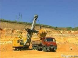 Жерства карьерная для строительства дорог