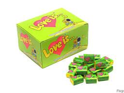 Жевательная резинка love is (лав ис) - Яблоко лимон