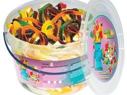 Жувальний мармелад ТМ Jelly Juice Довга змія, 0,45 кг. Box (1шт. - 25г)