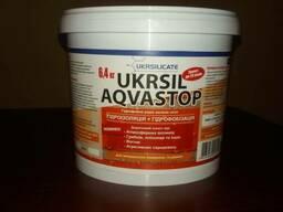 Жидкое калиевое гидрофобное стекло Ukrsil Aqua Stop