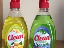 Жидкость для мытья посуды Clean 450 мл/Венгрия