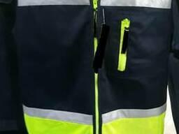 Жилет сигнальный для дорожных служб