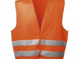 Жилет сигнальный, оранжевый (шт.), код 77-023