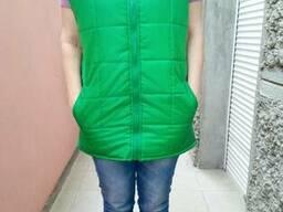 Жилет женский утепленный пошив под заказ