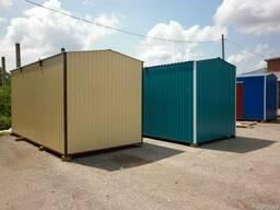 Жилые модули, строительные и офисные бытовки