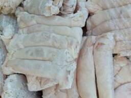 Жир внутренний свиной и говяжий заморож. или охлажд, кишечн