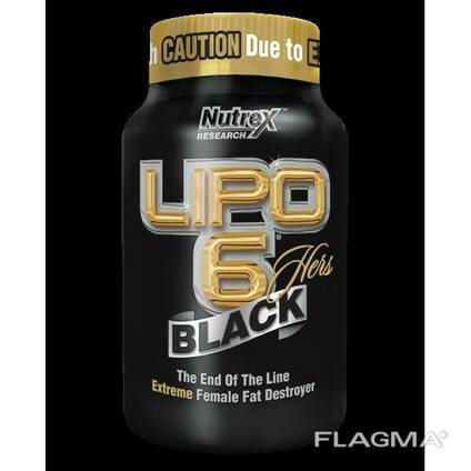 Жиросжигатель NR Lipo-6 Black Hers Nutrex 120 black-caps