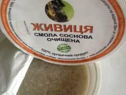 Живица сосны смола сосновая очищенная - фото 2
